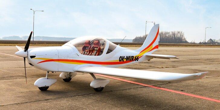 Seznamovací lety z Přerova: 20-60 minut letu vč. pilotování