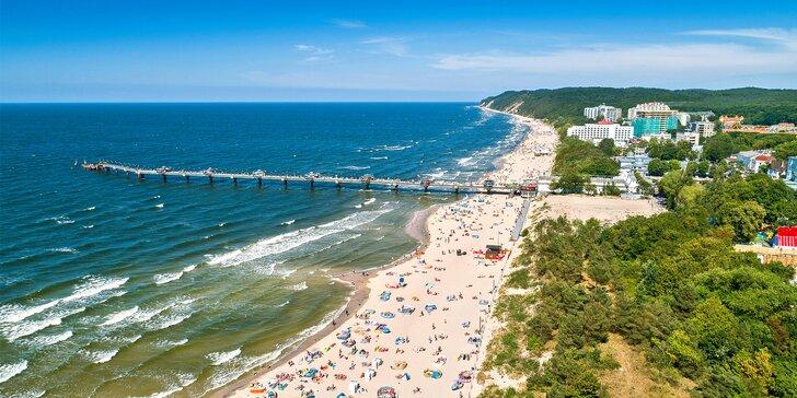 Polská pohoda u Baltského moře: apartmány s kuchyňkou a terasou