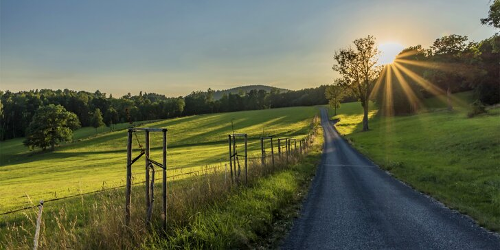Krkonošská pohoda od jara do podzimu: až 8 dní s polopenzí ve Vrchlabí