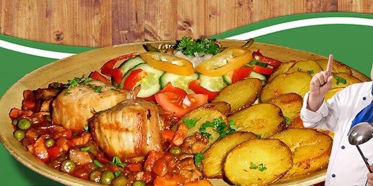 159 Kč za DVĚ porce budapešťských vepřových medailonků i s přílohami. Ochutnávka autentické maďarské kuchyně se slevou 50 %.