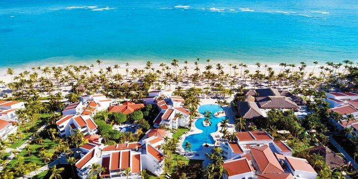Boží relax v Dominikánské republice: 7–13 nocí v 5* resortu s all inclusive 24 hodin denně