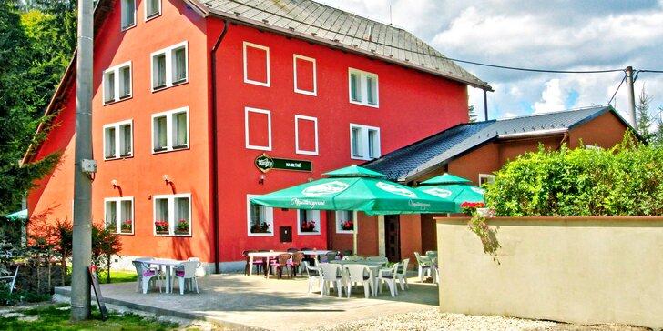 Aktivní odpočinek v Orlických horách: apartmán s vlastní vířivkou a saunou