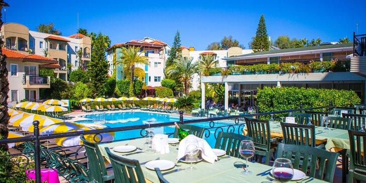 Ke Středozemnímu moři s celou rodinou. 4* beach hotel s all inclusive a super cenami pro děti