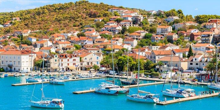 Dovolená v Chorvatsku: 7 nocí v útulném penzionu s polopenzí 100 m od pláže