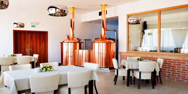 Pobyt na Šumavě v hotelu s minipivovarem a all inclusive nápoji k večeři