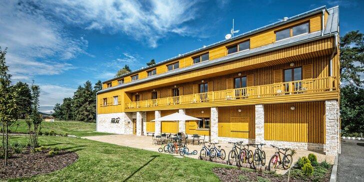 Dovolená u hradu Bezděz: hotel s polopenzí, případně wellness a zábava až pro 4 osoby