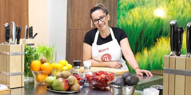 Kurzy vaření dle výběru s Monou z Masterchefa: steaky, česká kuchyně i omáčky