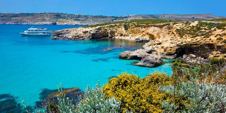 Poznávací zájezd na Maltu a Gozo: letenky, 4 noci se snídaní a průvodce