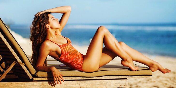 Ať vám bronz nezmizí: permanentka na 60, 90 nebo 120 minut v solárium