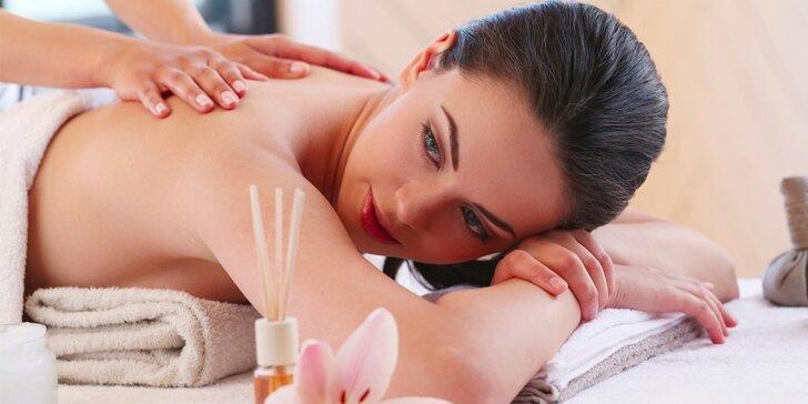 Úleva tělu a odpočinek duši: relaxační masáže dle výběru ze 4 druhů