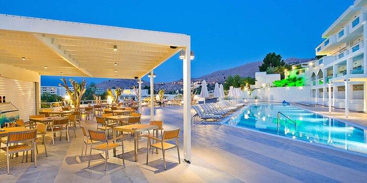 Řecká perla Lindos na ostrově Rhodos. 4* ubytování s all inclusive