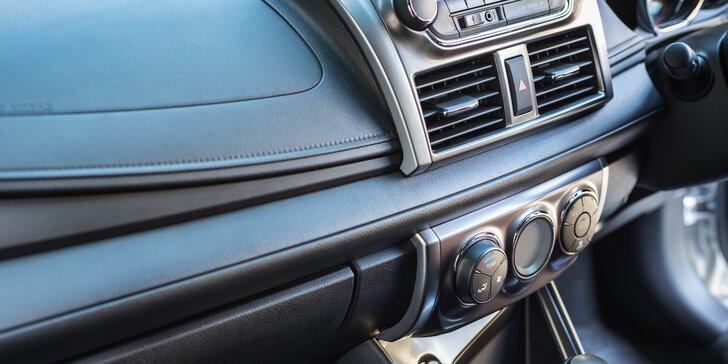 Důkladné čištění klimatizace osobního auta v Mostě
