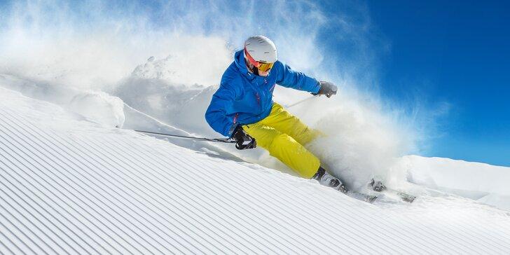 Skipas na 4 hodiny, denní i večerní lyžování ve středisku Jasenská dolina