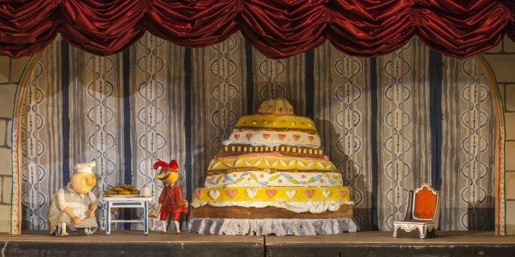 Divadlo Říše Loutek uvádí loutkové představení Sůl nad zlato