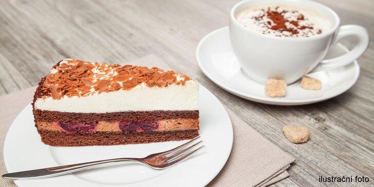 Stylová retro kavárna: káva i dezert dle výběru pro 1 či 2 osoby