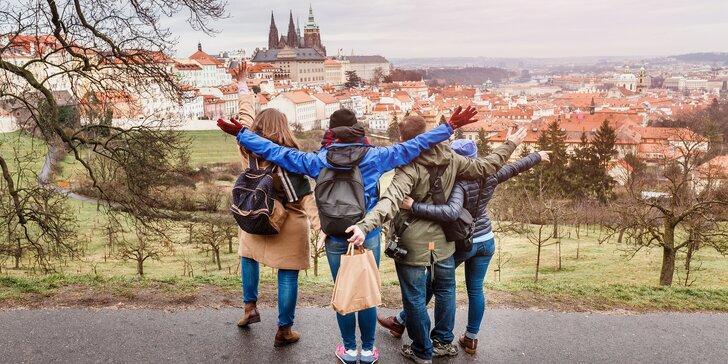 Poznávání Prahy z pohodlí penzionu Březina, zimní pobyty se snídaní