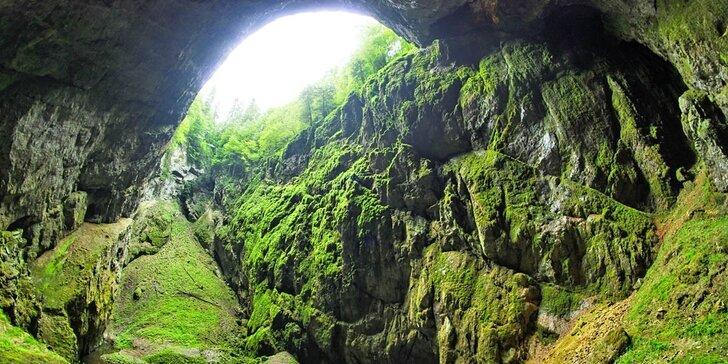Za krásami Moravského krasu: pobyt s polopenzí a vstupem do jeskyně