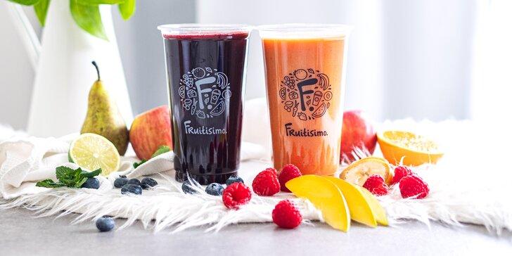 2× 0,5litrový drink Fruitisimo plný lásky a vitamínů: SRDCOVKA & ROMANTIK