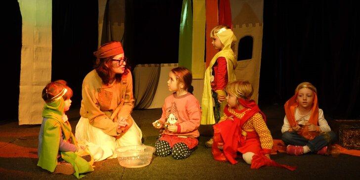 Vstupenka na dětské představení Duhový hrad v Divadle Minaret