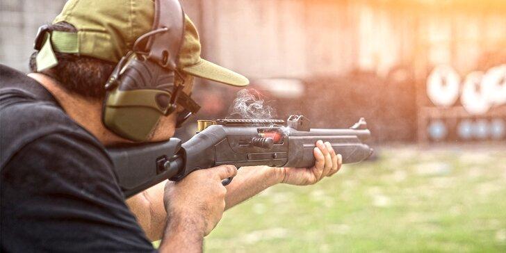 Střelba na vnitřní střelnici: dlouhé i krátké zbraně, 25 až 100 nábojů
