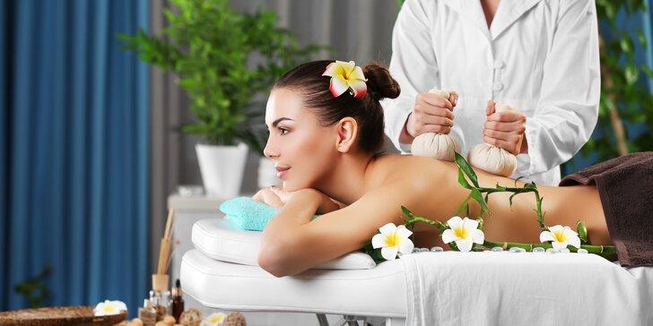 Thajská masáž podle výběru, oxygenoterapie a aroma lázeň nohou: 80 nebo 110 minut