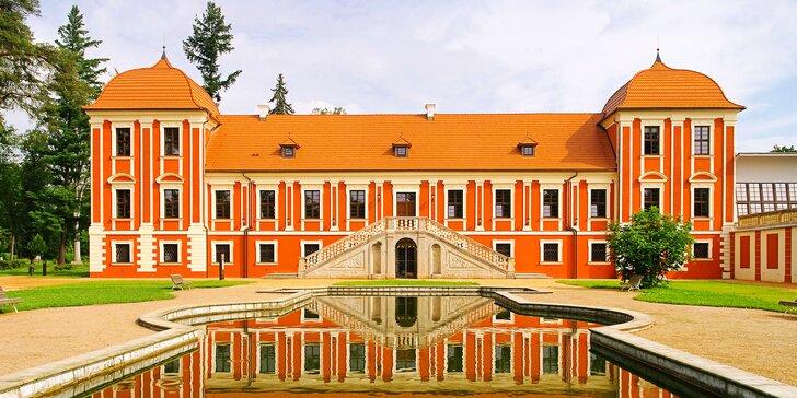 Ostrov u Karlových Varů: dvoulůžkový pokoj či apartmán, snídaně i slevy