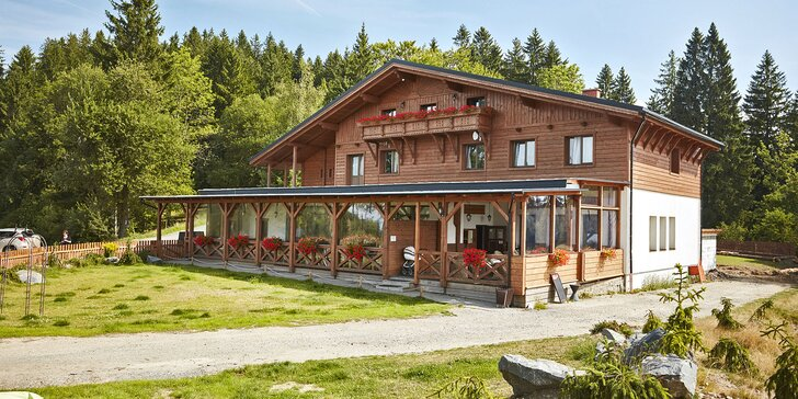 Pobyt v horském hotelu v Beskydech: polopenze, vlastní pekárna i wellness