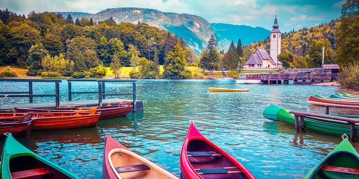 Zájezd za přírodou i památkami Slovinska: doprava, 1× nocleh i průvodce