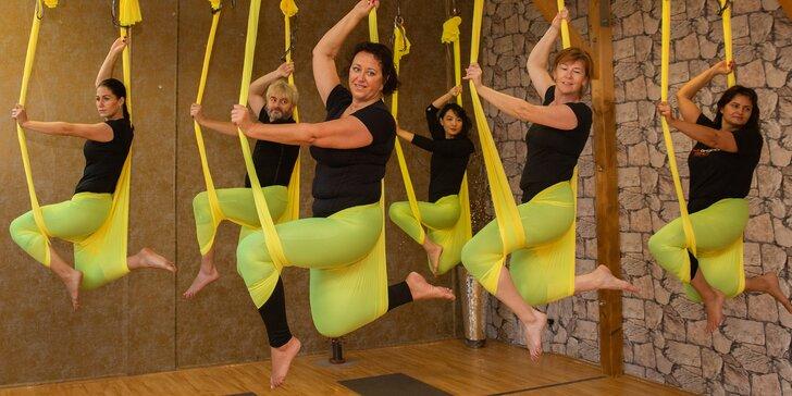 Přijďte tančit a létat zároveň: 1-10 vstupů na Aerial hammock dance
