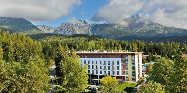 Aktivní dovolená u Štrbského plesa: 4* hotel s polopenzí, privátní wellness i spousta slev