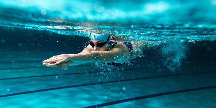 Skupinové plavecké tréninky pro začátečníky i výkonnostní plavce