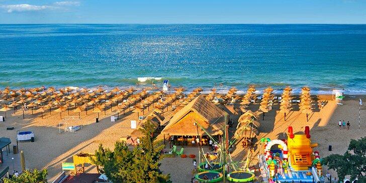 7 nocí na bulharském Slunečném pobřeží: snídaně, doprava letecky či busem