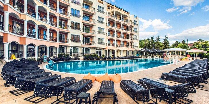 4* pobyt pro páry i rodiny na Slunečném pobřeží: ubytování až na 7 nocí, venkovní bazén a all inclusive program