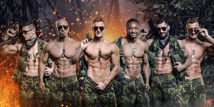 Tohle bude pořádně odvážné vystoupení: striptýzová show plná testosteronu