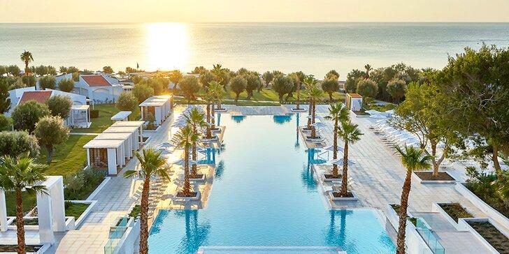 Kalithea s all inclusive: 4* hotel blízko jedinečné pláže i historických lázní
