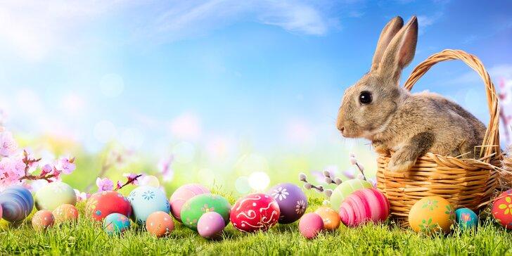 Velikonoční pobyt v Šiklově mlýně s polopenzí a programem až pro 4 os.