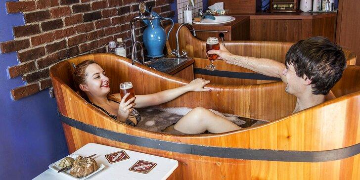 Wellness pobyt v Poděbradech: 1–5 nocí, snídaně, pivní koupel, relaxační procedury i dárek