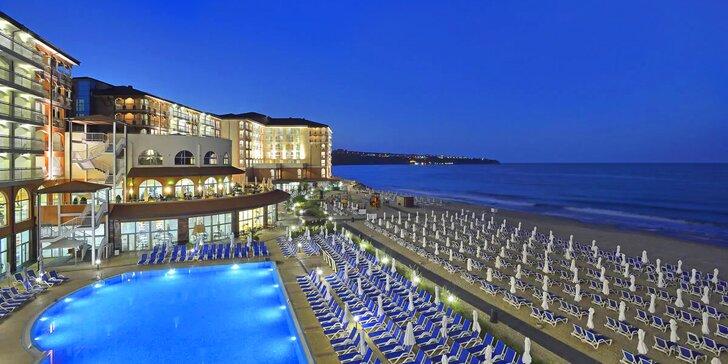 4* resort u nekonečné pláže letoviska Obzor, moderní aquapark i all inclusive