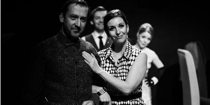 Vstupenka na divadelní představení Plešatá zpěvačka v Divadle v Celetné