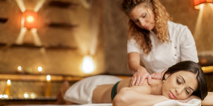 Dokonalý relax o víkendu: Uvolňující psychosomatická energická masáž na 90 minut