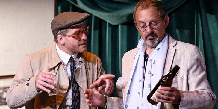 Vstupenka na divadelní představení Hra se smrtí v Divadle Na Maninách