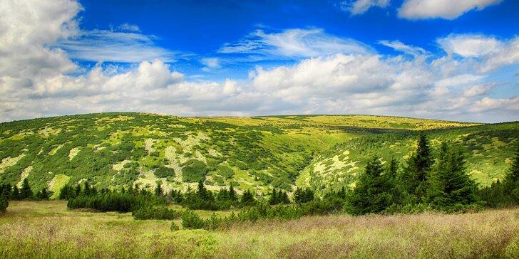 Krásná příroda Krkonoš: pobyt ve Špindlerově Mlýně s polopenzí pro 2 osoby
