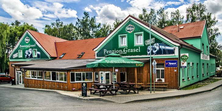 Pohodová jižní Morava: penzion s polopenzí a privátní vířivkou