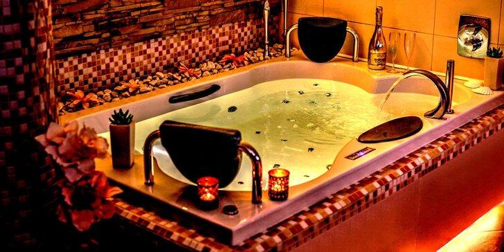 Relaxace pro pár: 1 nebo 2 hodiny v privátním wellness i občerstvení