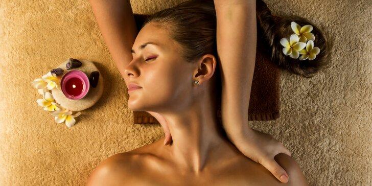 Relaxační masáž zad a šíje od nevidomých masérů
