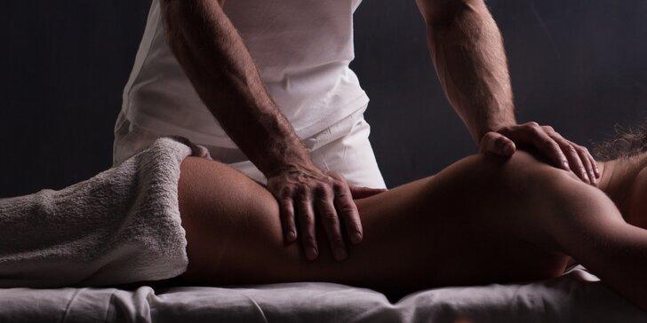 1,5–3 hodiny péče pro tělo: peeling, zábal, masáž nebo tantra