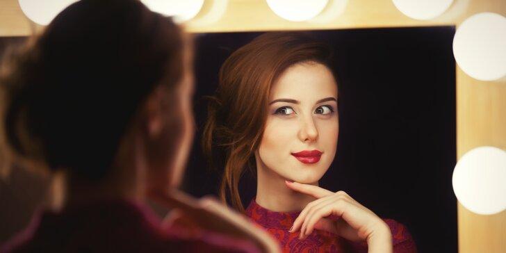 Proměna vizáže až pro 2 dámy včetně focení před a po a drobné úpravy vlasů