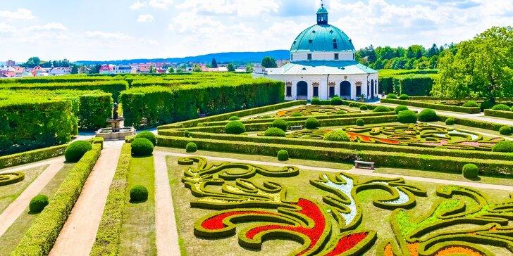 Pohoda na Hané s polopenzí a vstupem do Květné zahrady