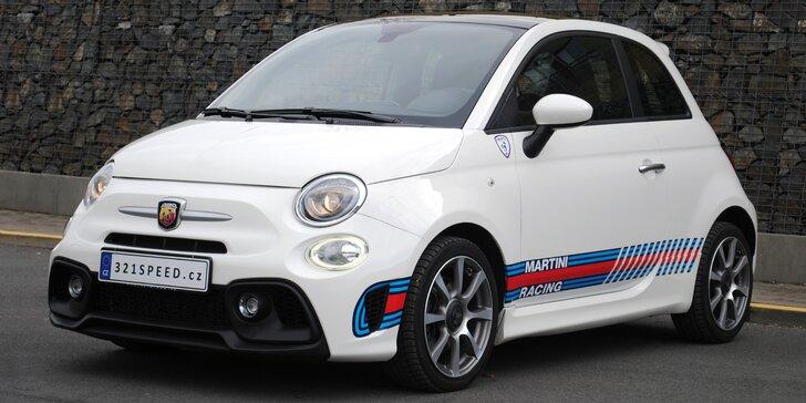 Malé auto s pořádným výkonem: zapůjčení Fiatu 500 Abarth na 1, 7 či 15 dní