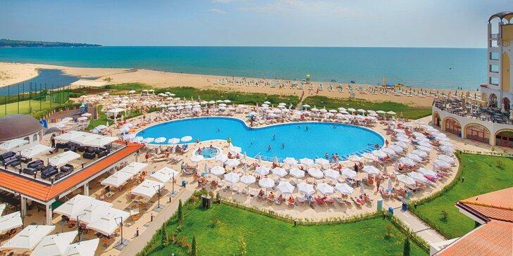 Bydlení u pláže i výhled na moře. 4* hotel s all inclusive v srdci Obzoru
